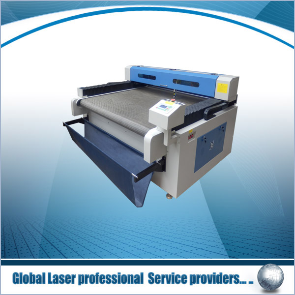 germany laser cutting machine manufacturers GY-1618M cloth,fabric,textile,garment,apparel,leather,paper,cardboard,paperboard