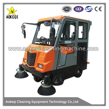 electronic road cleaning machine big size street sweeper machine