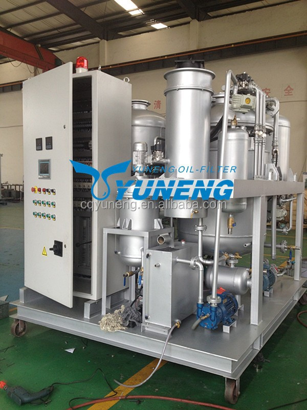 Yuneng used engine oil recycling machine in india buy for Used motor oil recycling equipment