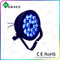 18*18W RGBWA UV 6IN1 powercon flat led par can