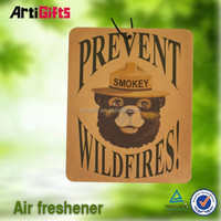 Wholesale cheap absorbent refillable paper car air freshener