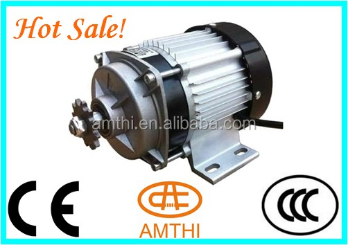 Small Waterproof Electric Motors 120 Chain Drive Electric Motor 48v 500w Electric Dc Motor