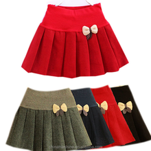 MS60924C wholesale dresses with tulle for girls winter woolen young girls mini skirts