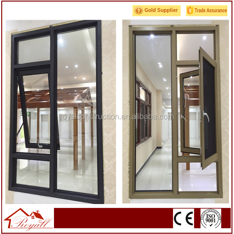 Hot selling Australia as 2047 stadrd soundproof double casement aluminium windows&amp