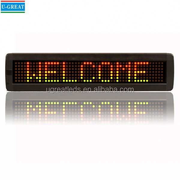 Alibaba Top sale led bus panel remote control led speed limit sign