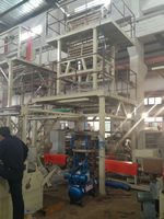 Three Layers Co-Extrusion stretch film making machine