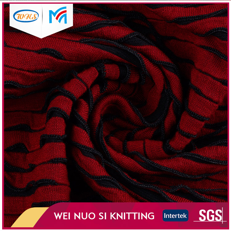 Manufacturer New Design terry circular knit fabric for cable sweater