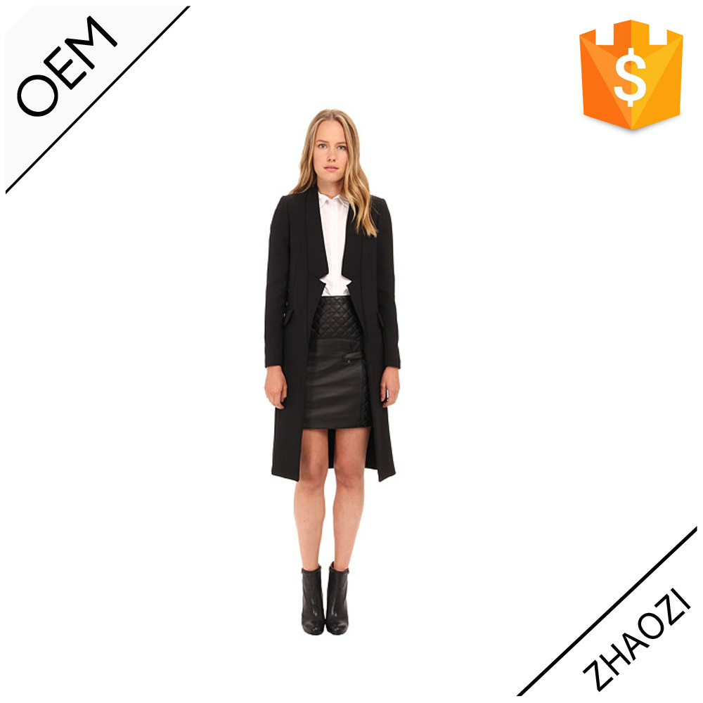 China Garment Manufacturer OEM fashion ladies formal women fancy blazer