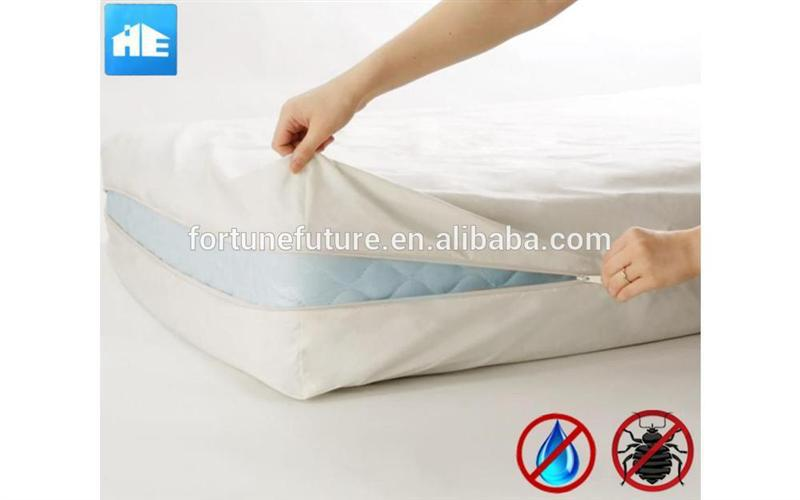 New design anti-dust mite waterproof mattress encasement with high quality
