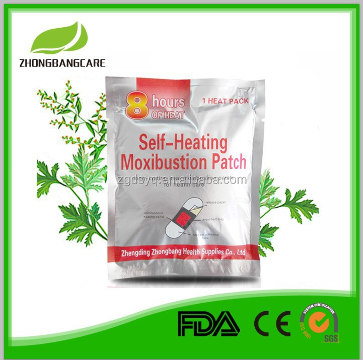 100% with herbal chinese magic Herb extract article ache heat pad,arthralgia,joint/muscle pain,moxa without smoking