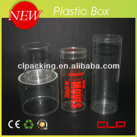 Customized plastic tube package for candy
