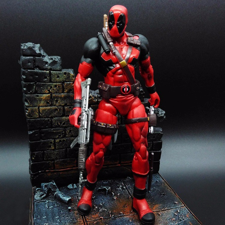 deadpool action figure/deadpool action figure manufacturer/custom deadpool figurine