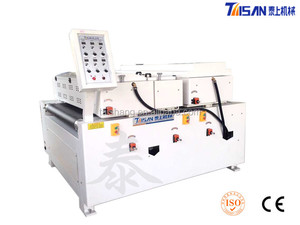 Filler coating machine used for fill the fibre or pore of board surface