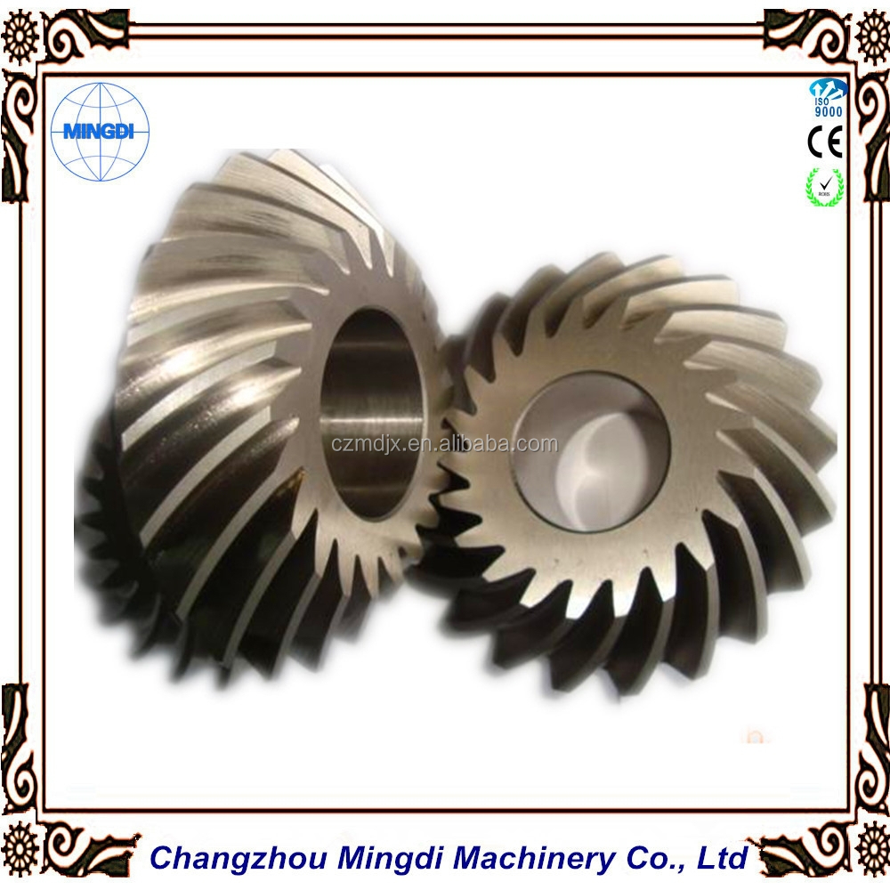 OEM Accepted Spiral Bevel Gear / Helical Gear / Helical Wheel