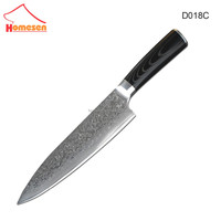 Best Quality Japanese VG10 Super Steel 67 Layer High Carbon Steel Damascus Knife