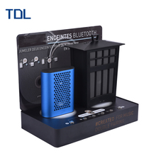Industrial Electric customized wireless acrylic bluetooth speaker display rack stand