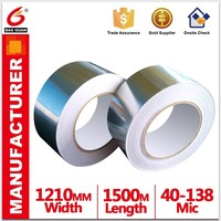 heat resistant and Outdoor Waterproof aluminium foil tape