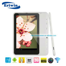 MTK8377 Dual Core 1G+8G 7inch 1024*600pixel 3G ZX-MD7010 7 inch wintuch tablet pc with dual mode phone call