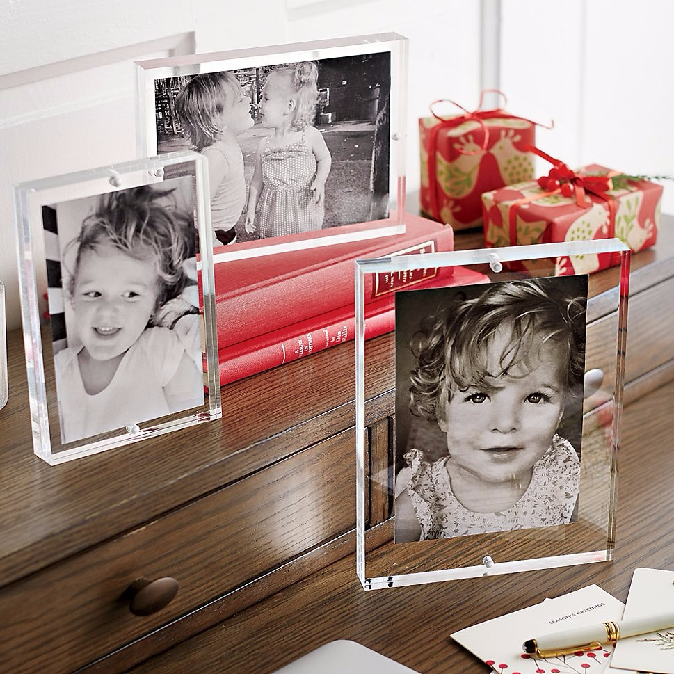 high grade clear acrylic photo picture frame,sixy photo/picture frame