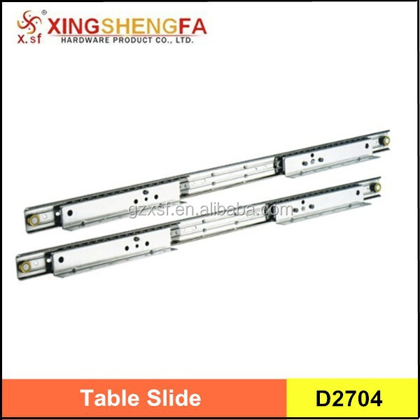 high quality ball bearing rails wood dining table slides