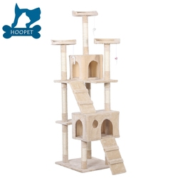 OEM Top Sale Guaranteed Quality cat tree parts, cat tree tower, cat tree house