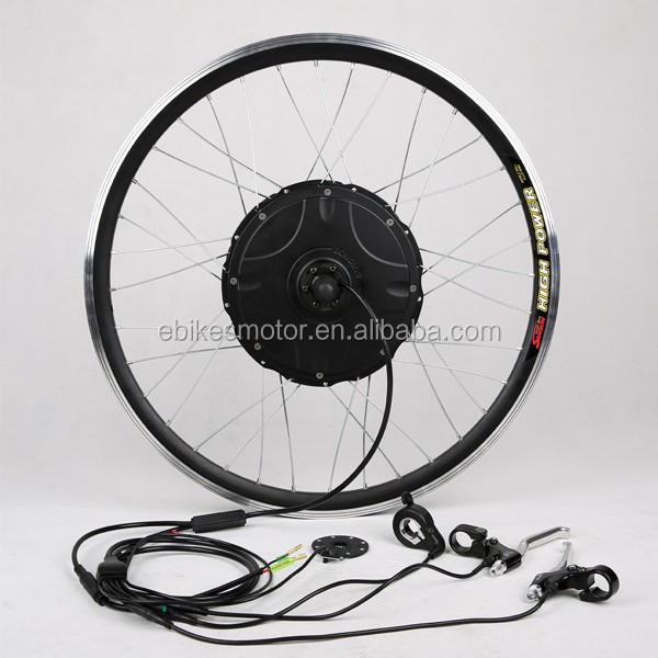 Competitive price,used electric bicycle hub motor kit, controller built-in motor