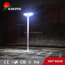 Solar Powered Outdoor Led Step Wall Light For Park Safety Lighting