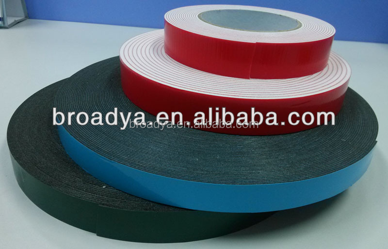 Auto part fixing foam tape
