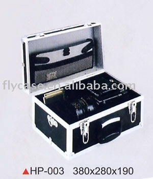2012 aluminum photograph case for specially design size 360*240*110mm also can storage other equipment