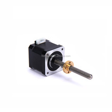 Micro nema 17 linear hybrid step motor for 3d printer spare parts
