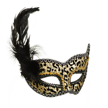Custom Party Feather Mask