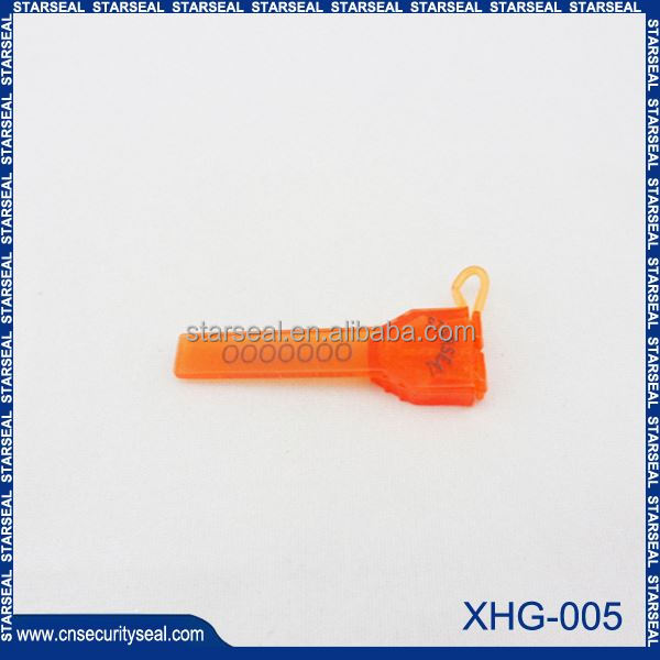 XHG-005 Chinese lock seals security barrier seals/bolt seal ch125