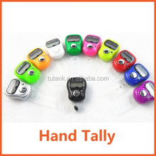 Chic Mini LCD Electronic Digital Display Finger Hand Tally Counter Timer