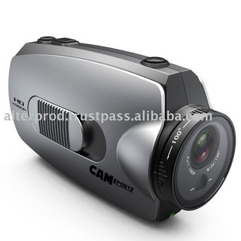 Full HD 1080hp helmet sport camera with laser