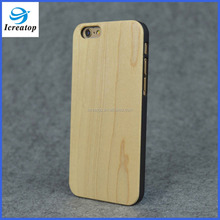 2016 new free sample wooden phone case, cell phone case for iPhone6/6s on sale