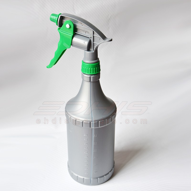CN021 900ml water can high quality plastic spray bottle with nozzle