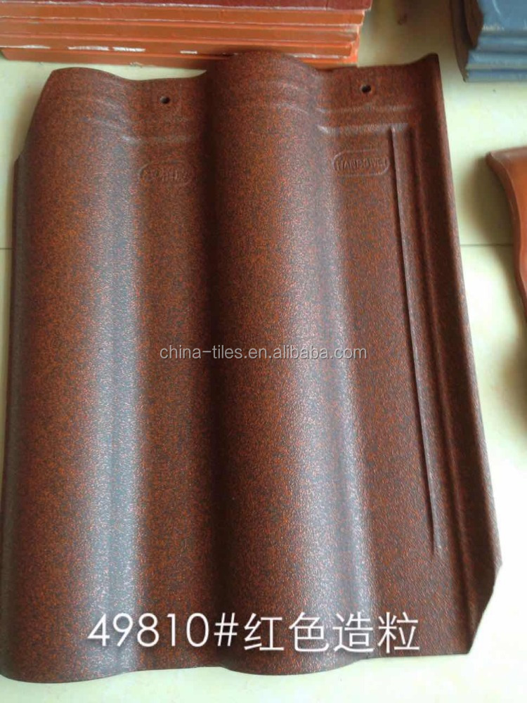2016 kerala new fast moving ceramic roof tile with dot surface