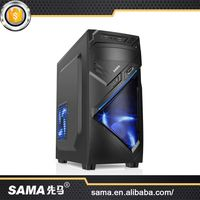 SAMA 2016 New Arrival Fashion Design Desktop Computer Gaming Case