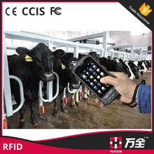 Dustproof rfid proximity card reader and phone for animal management