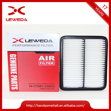 Car engine air filters perfessional auto parts OEM 17801-35020 air filter For Toyota
