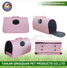 QQ Petbed Factory pet carrier travel pet carrier house pink soft