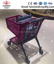 4 Wheels Shopping Plastic Go Carts Folding Carts Shopping Trolleys And Carts