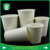custom single wall white paper cup