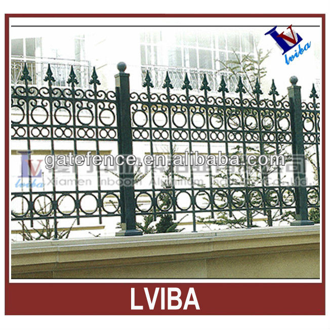 Modern security fence and decorative iron safety fence