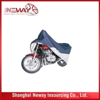 Newest top sell soft leopard motorcycle cover