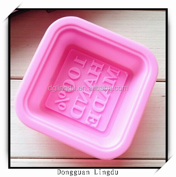 prices liquid silicone rubber shaped 100% handmade soap mold