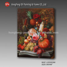 Top selling hand made canvas art still life oil painting