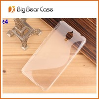 S Line TPU Soft Gel Rubber Back Cover Cases for Xiao mi 4 S Wave Case Mobile Phone Shell Cover