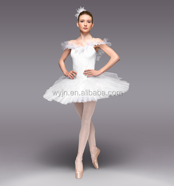 Exalted inexpensive flower girls dresses,professional ballet tutu,white swan lake ballet tutu costumes