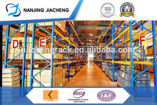 Professional team beam pallet racking system